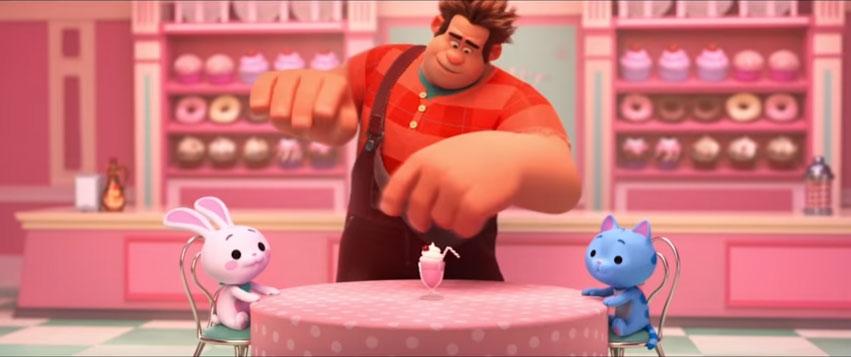 パンケーキ ミルクシェイクゲーム
