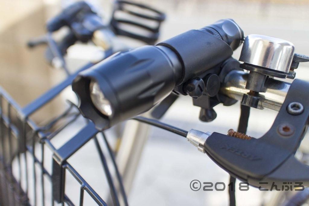 自転車ライトLinkax