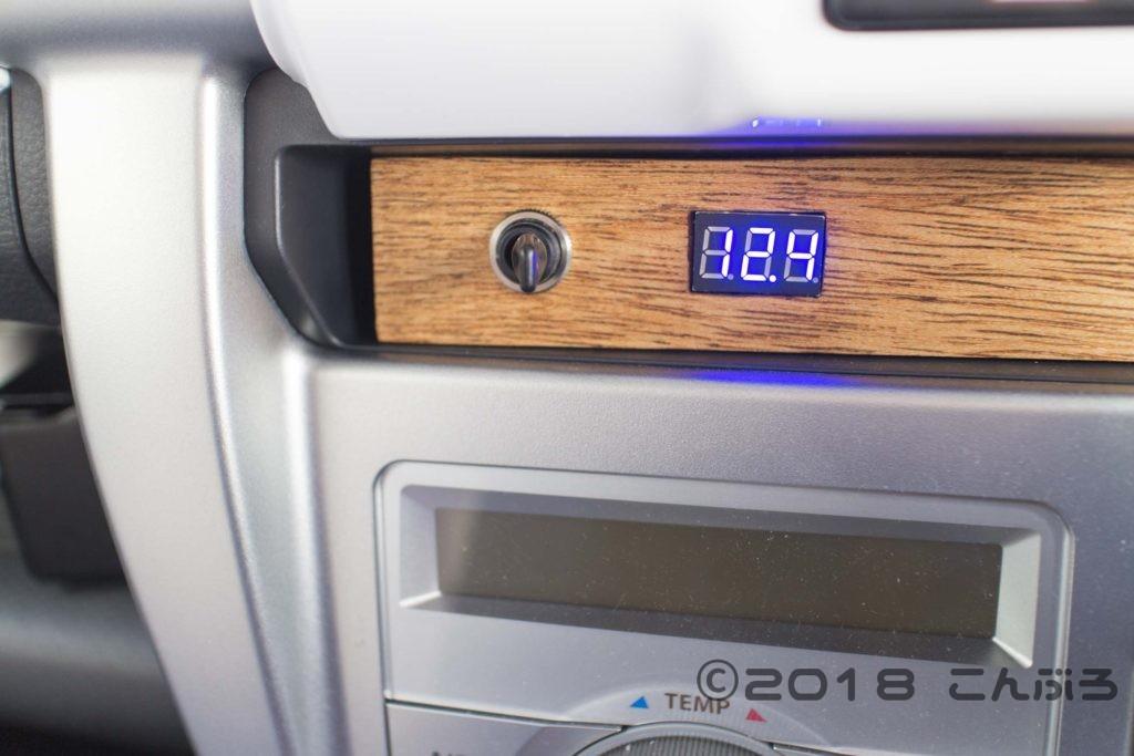 ハスラー 自作電圧計