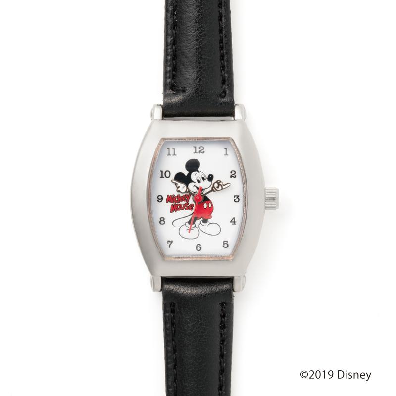 ヴィンテージ感のあるミッキー腕時計