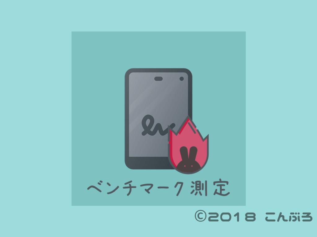 Android ベンチマーク測定
