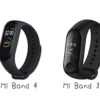 Xiaomi Band 4 と Band 3の比較
