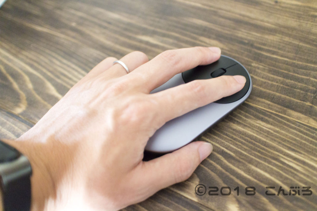Xiaomi マウスの使用レビュー