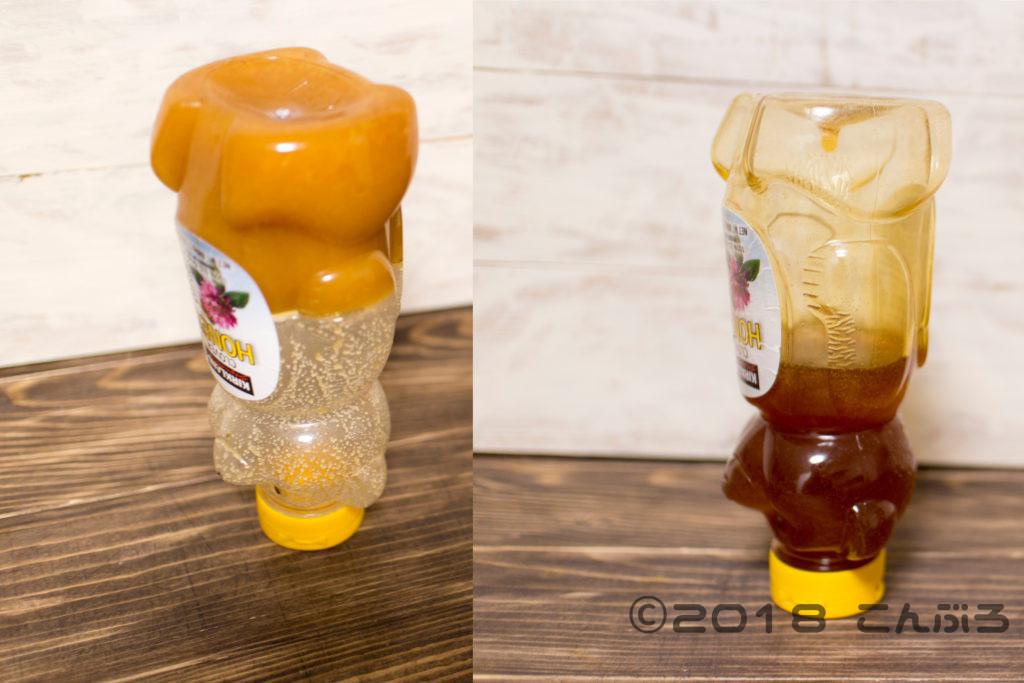 固まったハチミツを元に戻す簡単な方法