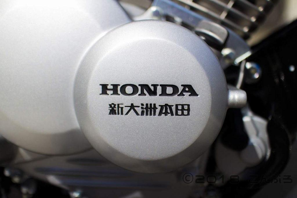 新大州本田のエンジン