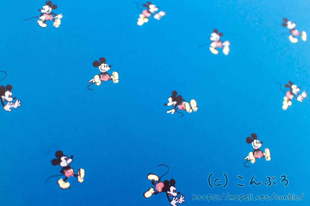 ディズニー傘のミッキーマウスデザイン