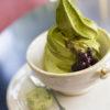 信楽の山本園WITHTEAの抹茶ソフトクリーム